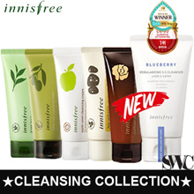 ★Innisfree★ Cleansing Foam Line! Apple Juicy/Green Tea/Jejubija/Jeju Volcanic Pore/Calming