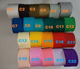 Ultra Thin Crepe Paper Streamer Streamers for decoration of Birthday Party
