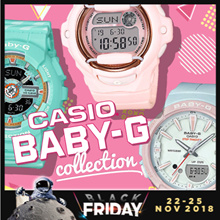 *APPLY 25% OFF COUPON* CASIO BABY-G COLLECTION! Free Shipping and 1 Year Warranty!