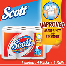 [[Scott]] Scott Kitchen Towel *Carton sales 4x6rollsx55s
