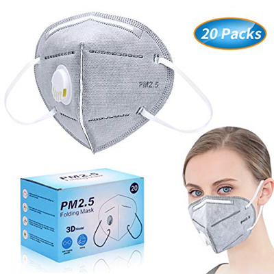 Particulate Disposable ▶ Shop - A Masks Dust Pollution N95 1 Coupon◀ Mask 20 Respirator Anti Packs