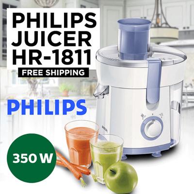 Philips Juicer HR 1811 Free ongkir Jabodetabek Deals for only Rp755.000 instead of Rp755.000