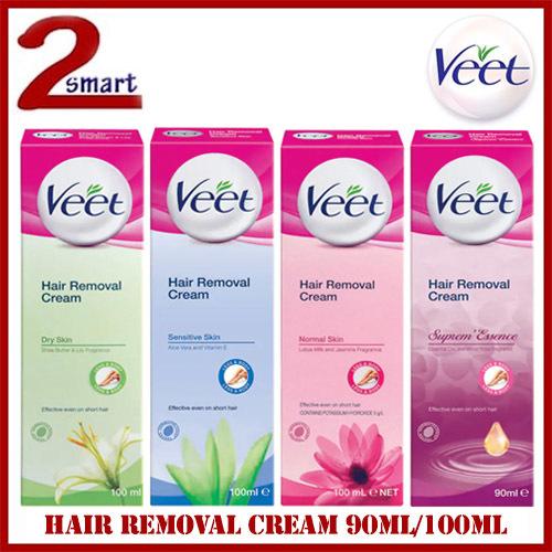 Qoo10 Veet Hair Removal Cream 90ml 100ml For Sensitive Skin
