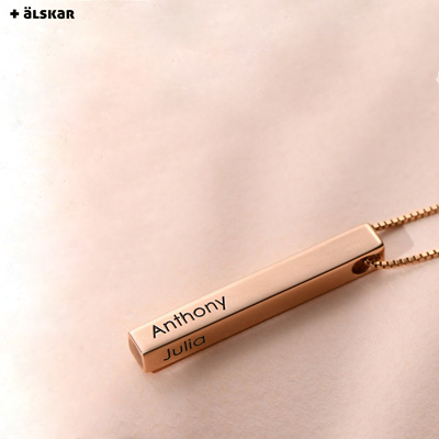 Custom A-Z Letter Pendant Alphabet Name Necklace Customized Jewelry Gift for Her EVER2000 Personalized Initial Letter Necklace