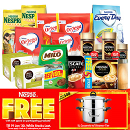 [[Nestle bundle + free gift]] Nescafe/NDG/ Milo/Nespray/Everyday/Omega bundle deals