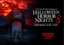 【 Halloween Horror Nights 】HHN8 - Universal Studios Singapore (USS) Halloween Horror Nights 8