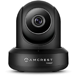 Amcrest ProHD 1080P WiFi Video Monitoring Security Wireless IP Camera with Pan/Tilt, Two-Way Audio,