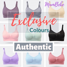 BUY 3 FREE 1 SCRUB【2018 NOV】Quality Nursing Bra Wear Top Night wear Pajamas breastfeeding Baby