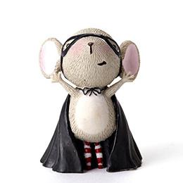 Enesco Halloween Stacy Yacula Mouse Mini Figurine 1.75-Inch