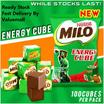 🌟 Milo CUBE 🌟 HALAL   FROM DUBAI   CHOCOLATE   YUMMY   ENERGY   100 cubes/pack
