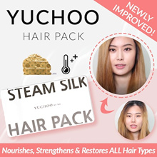 Yuchoo BUY 5 GET 1 FREE! ◤SOFT+SMOOTH RESULTS⇒TANGLE-FREE◢☆ NEW IMPROVED YUCHOO STEAM HAIR PACK!