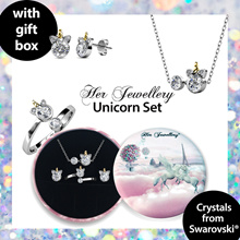 Embellished with Crystals from Swarovski® - Unicorn Set