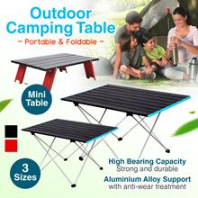 Outdoor Camping Table Portable BBQ Picnic Folding Table Tourist Tables Foldable Desk Aluminium