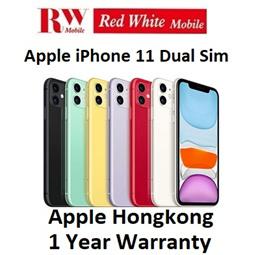 iPhone 11  Dual-Sim HongKong Apple Warranty