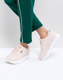 Fila Platform Orbit Sneakers In Pink