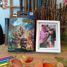 54 Sheets/Set Cartoon LOL League of Legends Poker Cards Comics Character Collection Playing Cards To