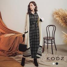 KODZ - Knitted Long Cardigan-172881-Winter