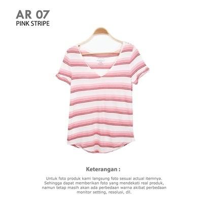 AR 07 PINK STRIPE