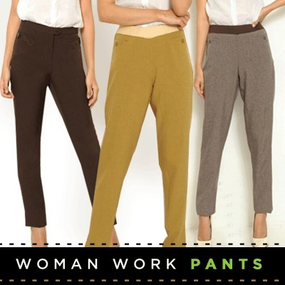 Bestseller! Womens Pants Deals for only Rp88.000 instead of Rp100.000