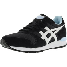 Onitsuka Tiger Womens Alvarado Black / White Ankle-High Fashion Sneaker - 9M