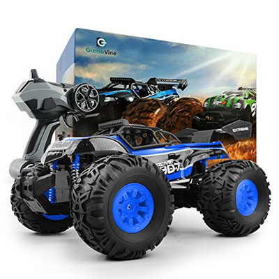 Qoo10 Gizmovine Rc Car Toys Remote Control Monster Truck With 2 4
