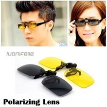 Polarized Spectacles Clip On Spectacles (Day/Night) sunglasses