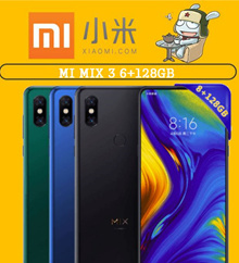 Ready Stock_Collect Now Mi MIX 3 6+128GB 845 Octa Core Mobile Phone 3200mAh 6.39