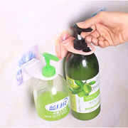 Shampoo holder / Hand wash holder /Toiletries holder / 2in1 wall holder