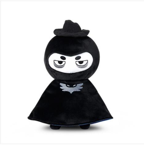 Qoo10 Bonnycrewe Black Hug Toys