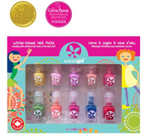 [Suncoat Girl] *Halloween Sale* Non-toxic Water-based Peelable Kids-safe Children Nail Polish