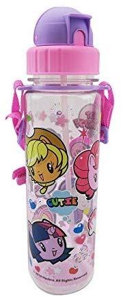 [Toys] My Little Pony Cutie Mark Crew Pop Straw Water Bottle, 550ml, Pink