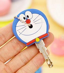 Sarung Kunci / Key Cover Cute / Key Cap / Penutup Kunci Kepala Lucu