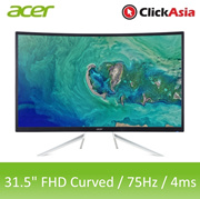 Acer ET322QR A 31.5-Inch FHD Curved Monitor - Black|3 Years Local Warranty|Local Stock Local Warrant