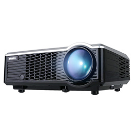 Projector, WiMiUS T7 Upgraded 3200 Lumens Mini Projector, Portable LED Projector Support 1080P HDMI
