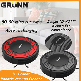 [43% OFF] GRUNN i1-ECOBOT ROBOT VACUUM CLEANER WITH WATER TANK!!!