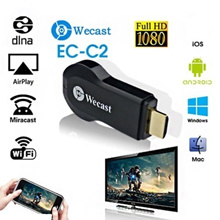 Miracast Wifi Display Receiver Dongle 1080P HDMI Chromecast AirPlay