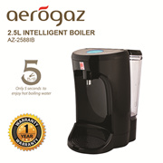 Aerogaz 2.5L Intelligent boiler (AZ-2588IB) Fast boiling - Takes only 5s to boil water / LED Display