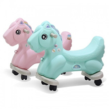 Ride On Drive Horse Toy Pony Chair Riding Horse For Kids And Children With Wheels