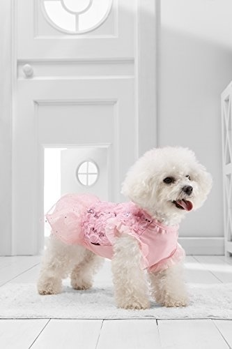 [USA] Small Dog Tutu Dress For Bichon Frise Maltipoo Havanese Pekingese  Chinese Crested (Small Size,