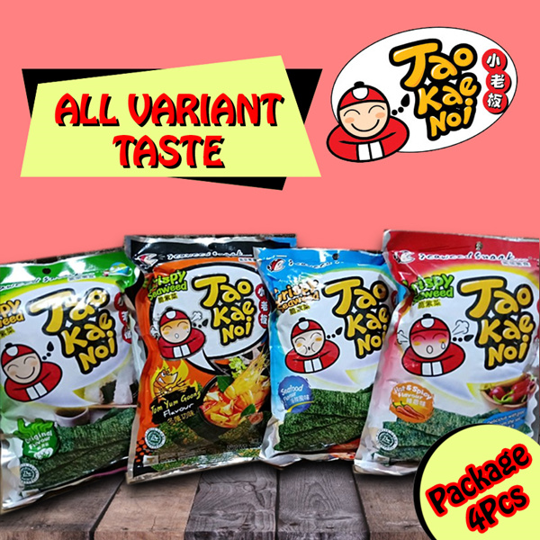 Promo Package 4 PCS TAO KAE NOI 32gr Deals for only Rp89.000 instead of Rp89.000