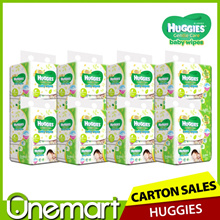 [HUGGIES] Gentle Care Baby Wipes ★ Carton Sales (24 x 80s Pack)