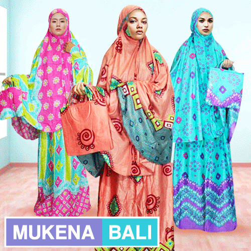 Mukenah Bali Rayon Batik Colections 3 Deals for only Rp49.000 instead of Rp49.000