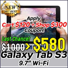 SAMSUNG★32G★ Galaxy Tab S3 (9.7) Wi-Fi SM-T820 / Samsung Tab 9.7inch /S Pen