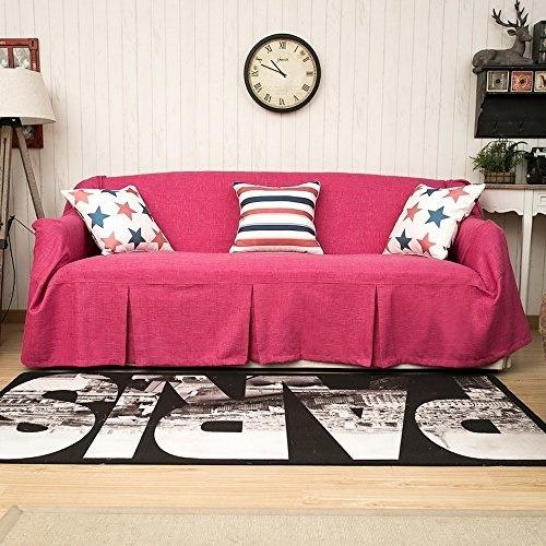 Qoo10 Karuilu Home Sofa Throws 1 Piece Heavy Fabric Sofa