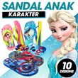 Sandal Santai Anak - Karakter Princes - Many Colour