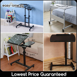 Y1 Y3 05-1 Movable Computer Laptop Table/ Height Adjustable Computer Bedside Bed Sofa