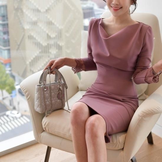 悪女日記】ポレンワンピース5577 綿ワンピース/ 韓国ファッション