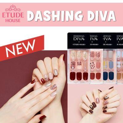 2019 NEW [Etude House] ♥ Dashing diva ♥ / nail / pedi / gel