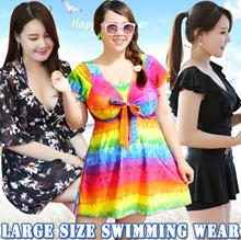 2018 Large size swimming wear ★ Fat mother Swimwear ★ Spa swimsuit ★ Bra Diving suit ★ Korean Bikini