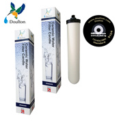2 units 0.9 micron Doulton Standard Ceramic Water Filter Candle reduce rust sediment small particles